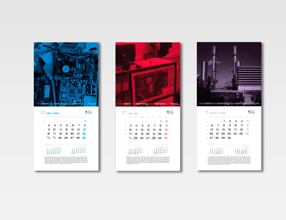 Calendario Industria 2016