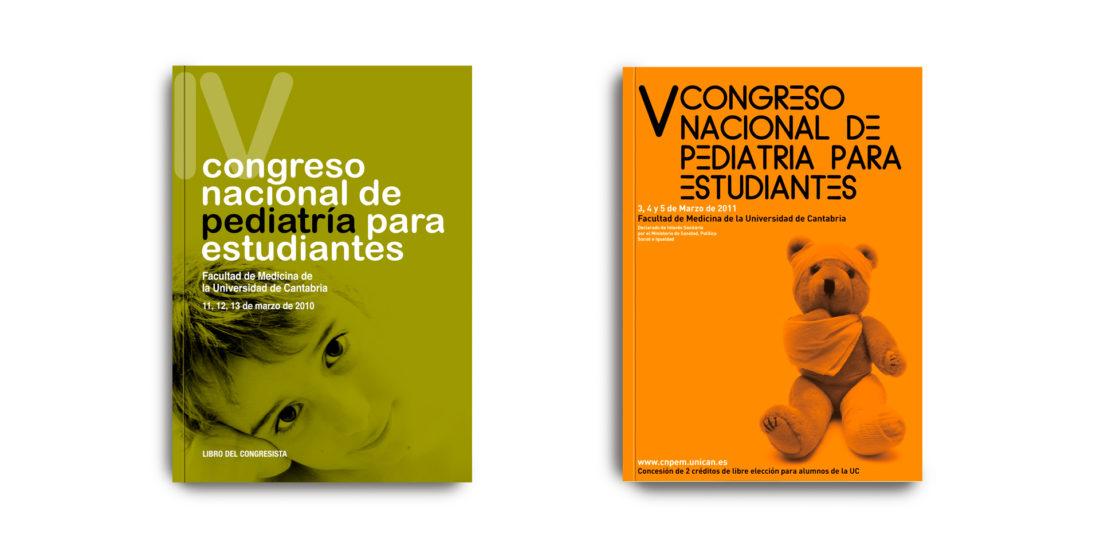 Libros IV y V Congreso Nacional de Pediatría para Estudiantes
