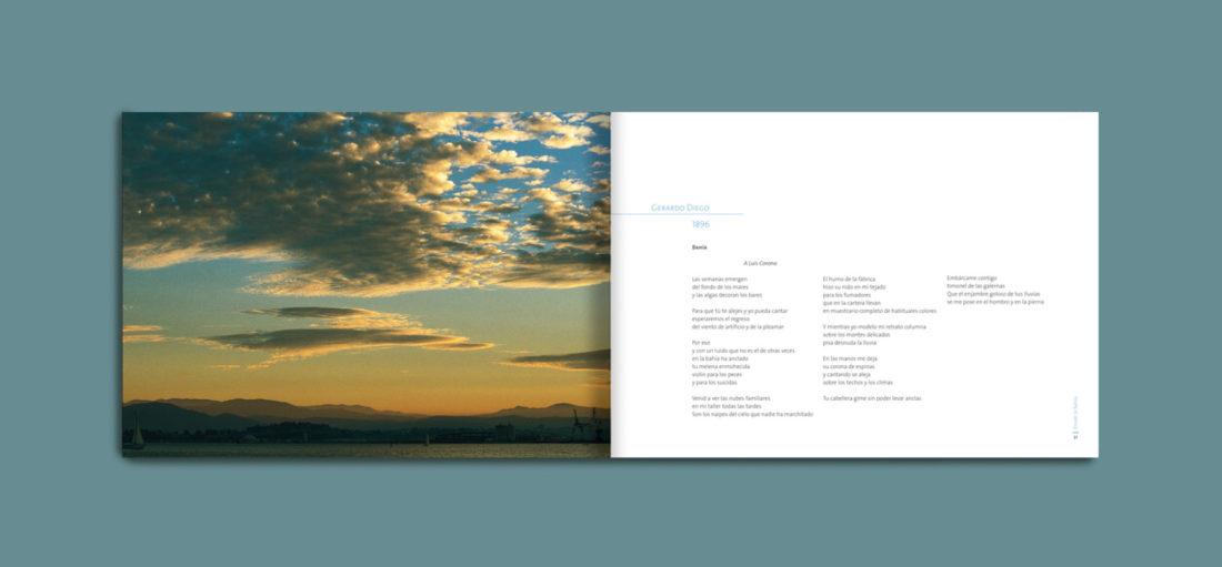 Libro Desde la Bahía, poetas de Cantabria cantan a la Bahía de Santander