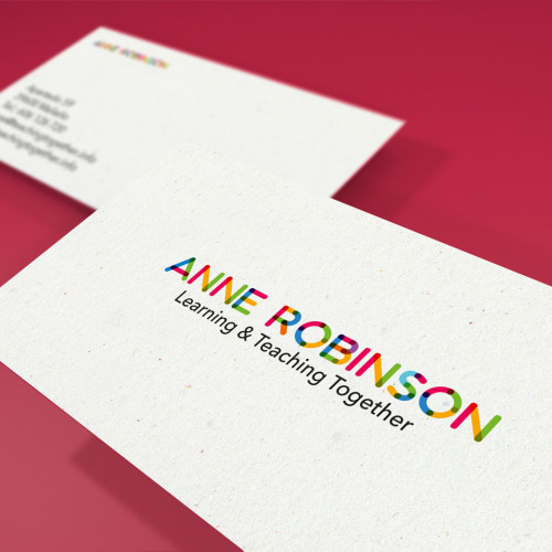 Logotipo Anne Robinson, Learning & teaching together
