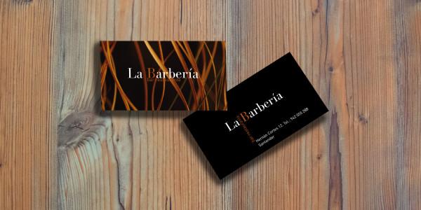 Diseño Gráfico e Imagen Corporativa para Bar Restaurante la Barbería