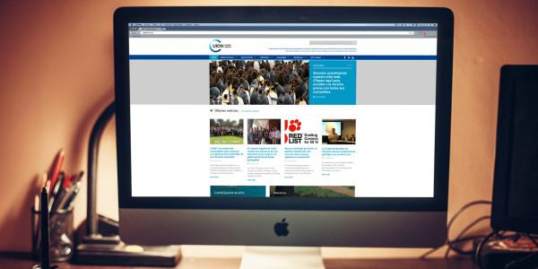 Web Unión Internacional para la Conservación de la Naturaleza