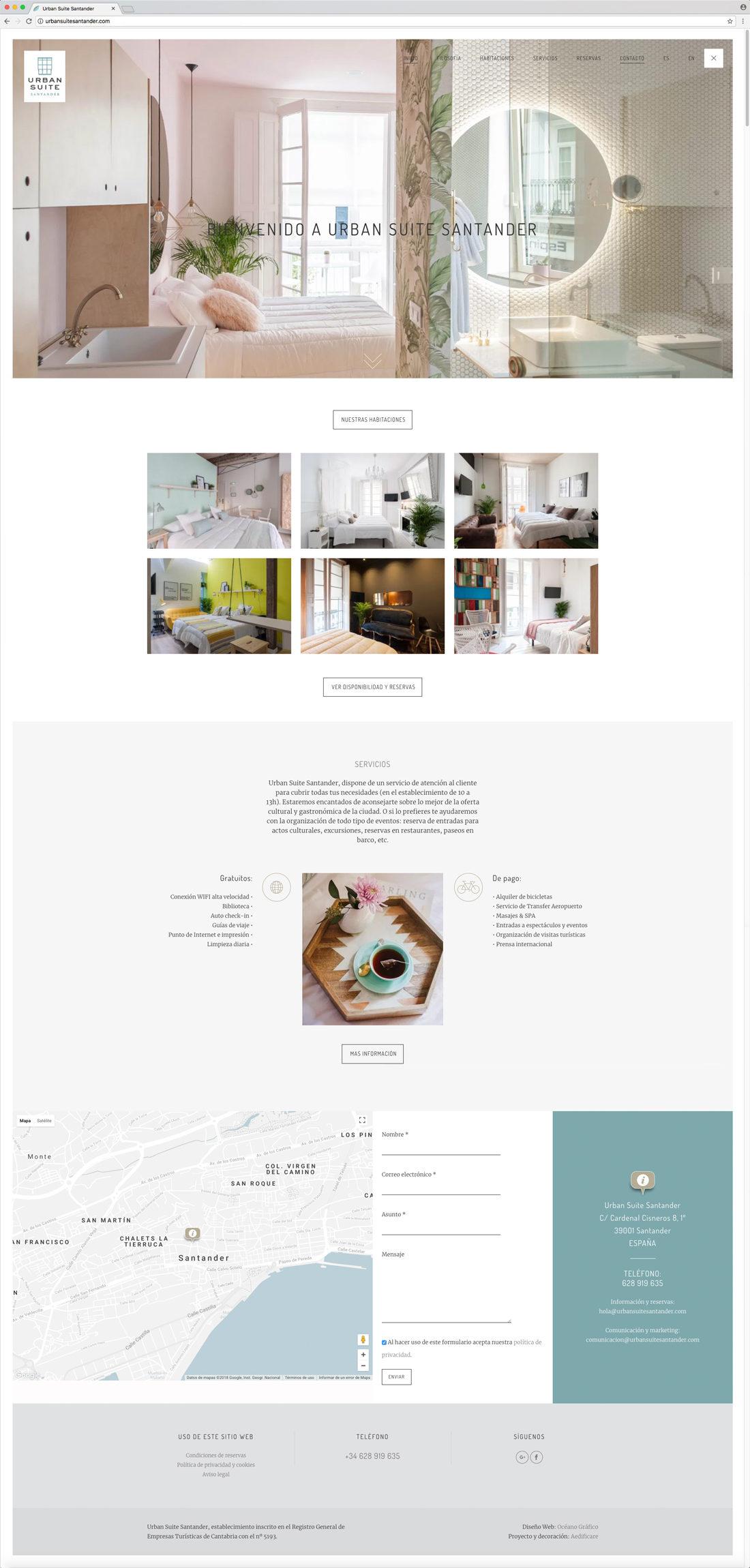 Urban Suite web