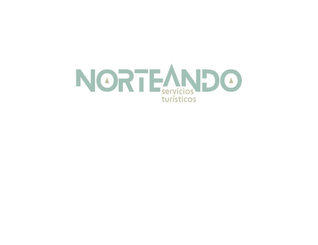 Norteando Servicios Turísticos naming y logo