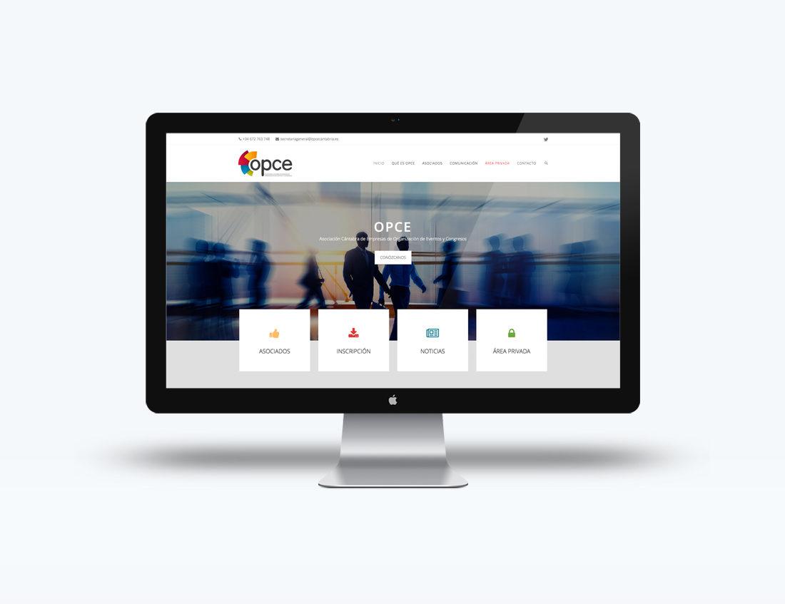OPCE web responsive