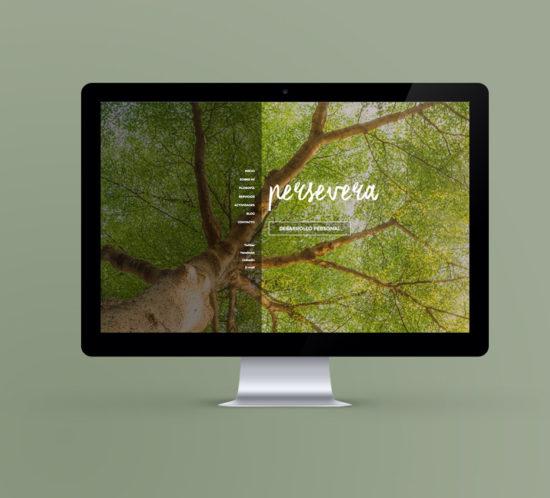 Persevera Desarrollo Personal web responsive