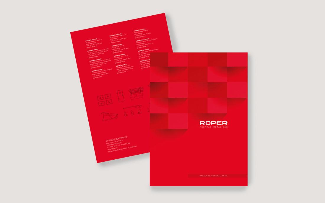 Roper catálogos de producto