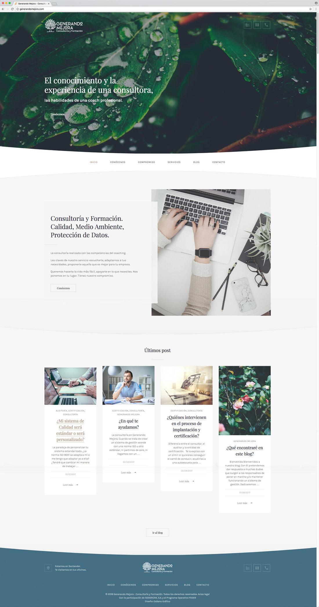 Generando Mejora web