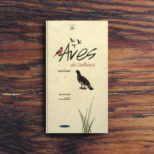 Libro Aves de Cantabria, Guía ilustrada